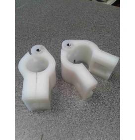 Abrazadera nylon 30mm adaptable john deere