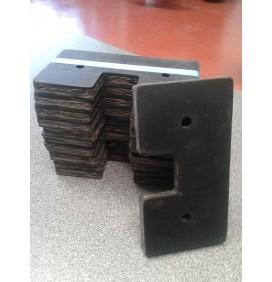 Paquete de 10 Paletas goma  serie moderna adaptable John Deere