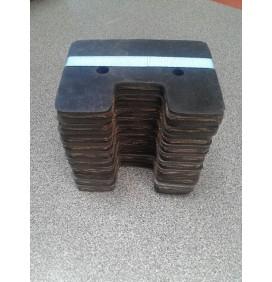 Paquete 10 paletas goma adaptable Claas